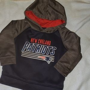 Patriots Sweatshirt 2T